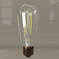 Download 3D printer templates Bulb, illusioncreators1979