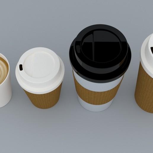 4.jpg Download STL file Coffee Cup • 3D printing template, illusioncreators1979