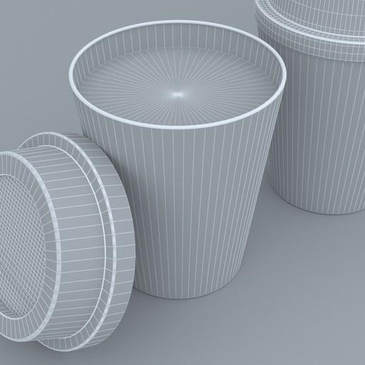 11.jpg Download STL file Coffee Cup • 3D printing template, illusioncreators1979