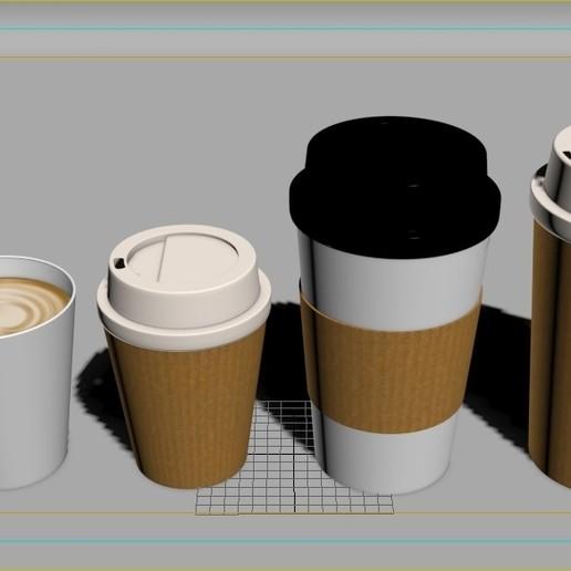 14.jpg Download STL file Coffee Cup • 3D printing template, illusioncreators1979