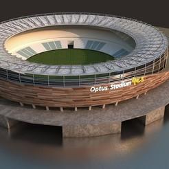 1.jpg Download STL file Optus Stadium • 3D printable object, illusioncreators1979