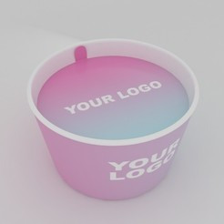 Download STL Ice Cream Cup, illusioncreators1979
