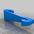 Download free 3D printer files Shower hook (eg. for towels, brushes) for 8mm glass, da_syggy