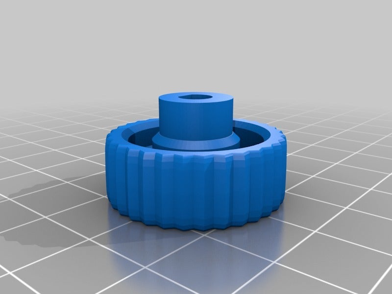 8a0319c893b7c75457e85a6ac8c6bf0e.png Télécharger fichier STL gratuit YAEEK - Encore un autre bouton d'extrudeuse Ender (27mm de diamètre) • Plan pour impression 3D, da_syggy