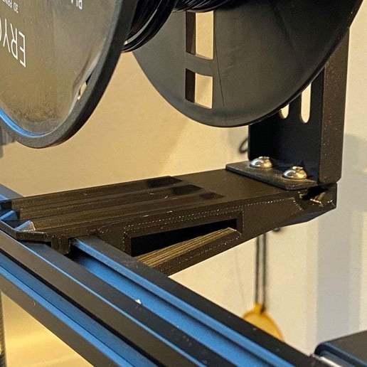 IMG_5694.jpg Télécharger fichier STL gratuit Support de bobine inversé Ender 3 • Plan pour imprimante 3D, da_syggy