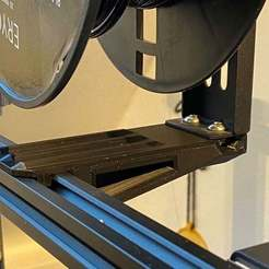 Download free 3D printing files Ender 3 inverted spool mount, da_syggy