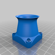 Download free STL files 40/60mm fan duct/velocity stack (hero me compatible), da_syggy