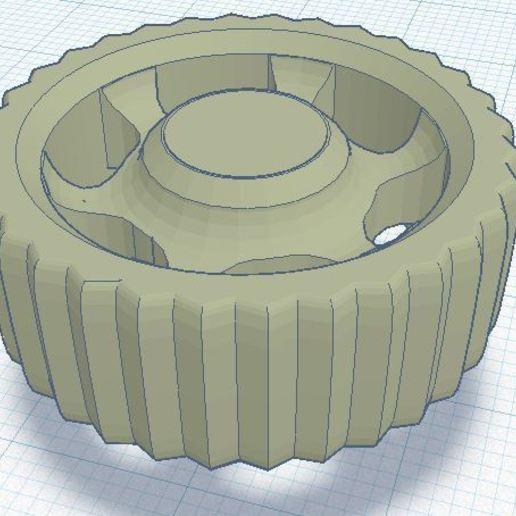 YAEEK.JPG Télécharger fichier STL gratuit YAEEK - Encore un autre bouton d'extrudeuse Ender (27mm de diamètre) • Plan pour impression 3D, da_syggy