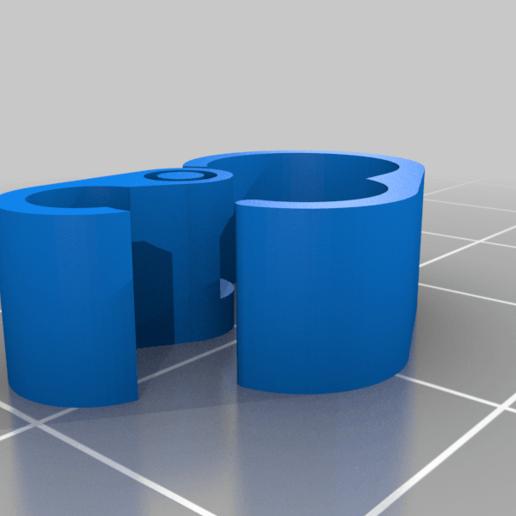 bowden_cable_clip.png Télécharger fichier STL gratuit Bowden&cable clamp • Plan pour imprimante 3D, da_syggy