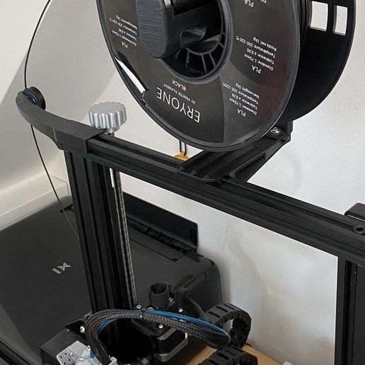 IMG_5697.jpg Télécharger fichier STL gratuit Support de bobine inversé Ender 3 • Plan pour imprimante 3D, da_syggy