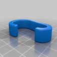 Télécharger fichier 3D gratuit Cintre pour porte-vêtements de 25,5 mm (par exemple, IKEA), da_syggy