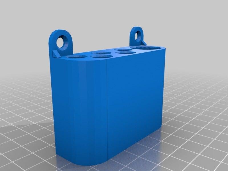 cc5dc81c67e2d5bd94c6916bb48d4903.png Download free STL file simple pencil wallmount • Model to 3D print, da_syggy