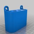 Download free STL file simple pencil wallmount • Model to 3D print, da_syggy