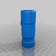 Download free 3D printer templates Dyson adapter 31mm (for dust-daddy like micronozzles), da_syggy