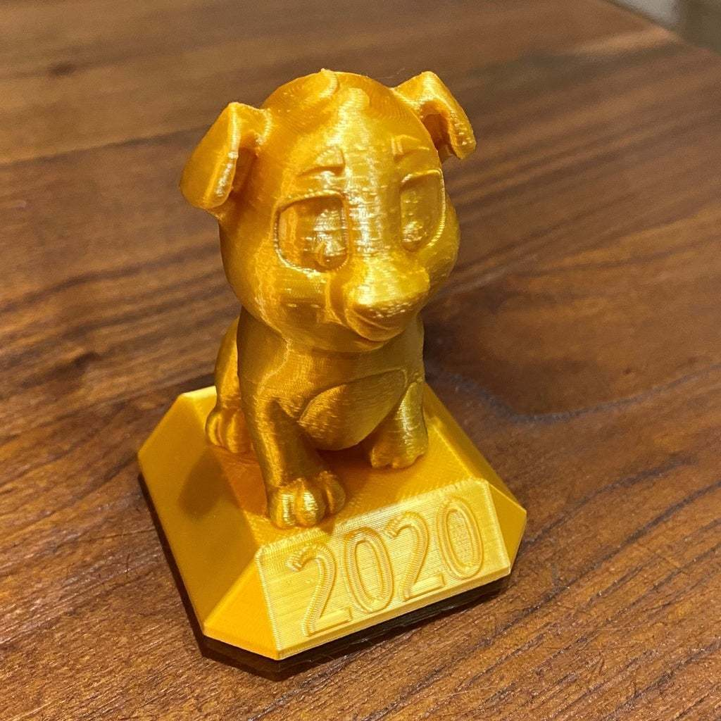 IMG_5293.JPG Télécharger fichier STL gratuit Niko le chiot 2020 • Objet pour imprimante 3D, da_syggy