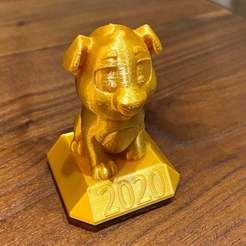 Download free STL file Niko the Puppy 2020 • 3D printer object, da_syggy