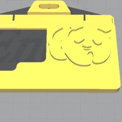 Imprimir en 3D gratis Porta Credencial (oso), duck_uck