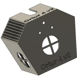 Descargar modelos 3D gratis Cabeza de impresión ortur 4 v2 (cubierta), xbillou360