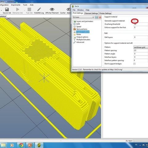 Mediator.jpg Download STL file Médiator • Model to 3D print, Labidouille