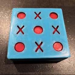 Télécharger modèle 3D gratuit Jeu de Morpion - tic-tac-toe - OXO, sebbmx