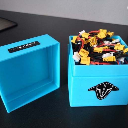 Download free 3D model Box for 20 lipo 300mAh 2S, sebbmx