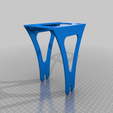 Download free 3D printing templates Filament spool stand Alfawise U20, sebbmx