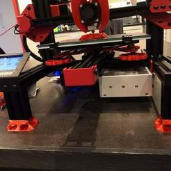 Descargar modelos 3D gratis Pies de reducción de ruido para el Alfawise U30, sebbmx