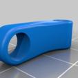 Download free 3D printer designs DemonRC AURA TBS Immortal T antenna support, sebbmx