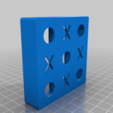 Download free 3D printing models Morpion game - tic-tac-toe - OXO, sebbmx