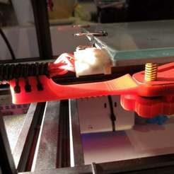 Download free 3D printing files Support de cable bed Alfawise U30, sebbmx