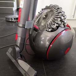 Download free STL file Support tube Dyson big ball absolute 2 • Model to 3D print, sebbmx
