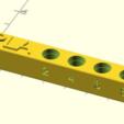 Télécharger fichier SCAD gratuit plaque à buses personnalisable pour les embouts Mk8 et Mk10 • Plan imprimable en 3D, pgraaff