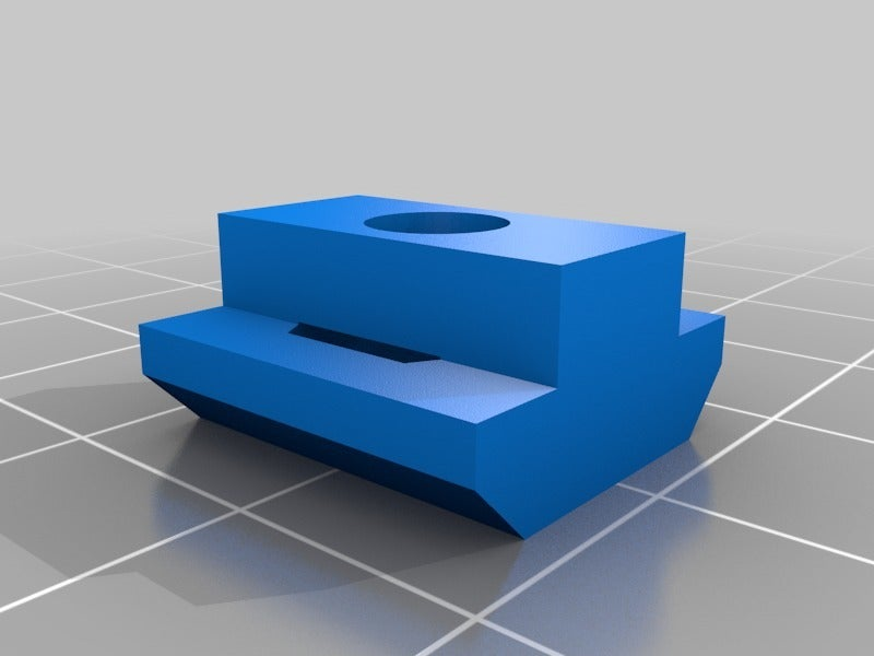 4d91c8643ce0eef863816a390259548d.png Download free STL file T nut for CNC 3018 • 3D printable object, pgraaff
