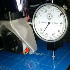 Télécharger plan imprimante 3D gatuit comparateur à cadran Creality Ender 2 & CR-10 _V2, pgraaff