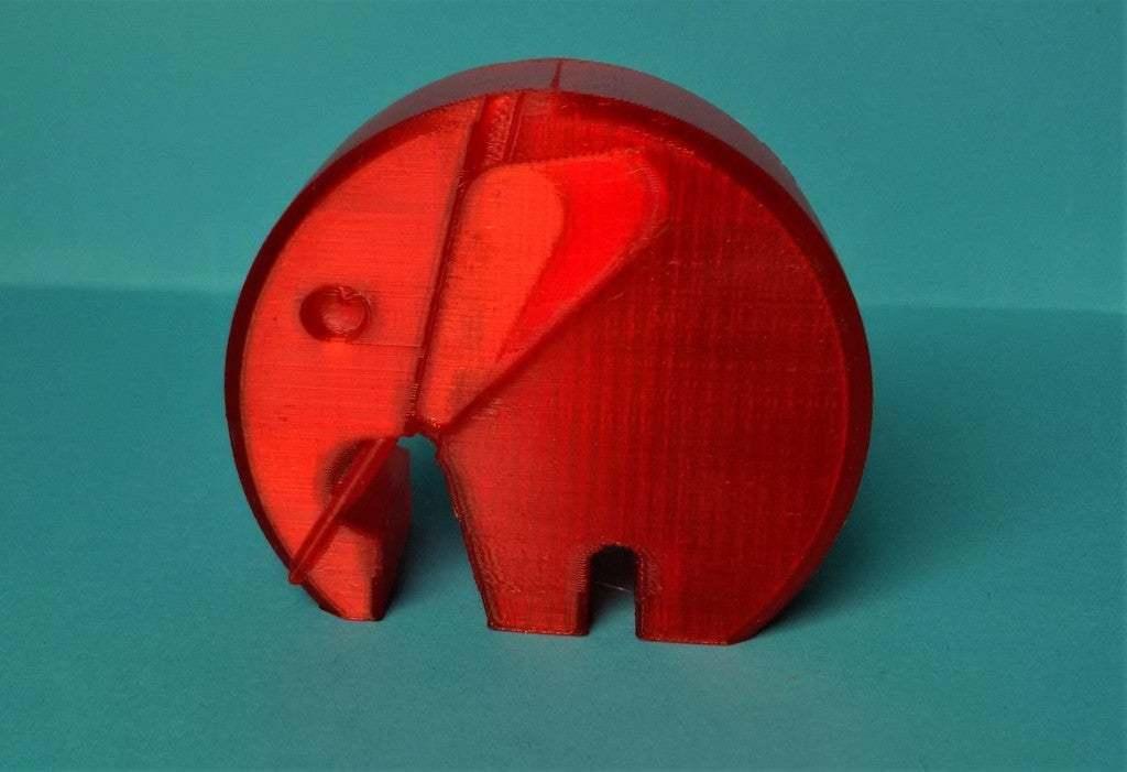 IMG_20190126_155106.jpg Télécharger fichier STL gratuit éléphant moderne danois avec oreilles et défenses • Modèle imprimable en 3D, pgraaff