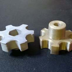 Download free 3D print files handle for M6 nuts and screws, pgraaff