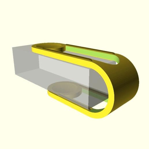 dccd5f8a7c515aeb55e0103fd26eaa57.png Télécharger fichier SCAD gratuit pince à nappe paramétrique personnalisable V3 • Plan pour impression 3D, pgraaff