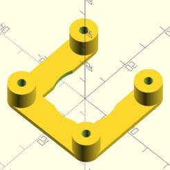 NEMA-17_spacer_V2.PNG Download free SCAD file customizable NEMA 17 spacer • 3D print design, pgraaff