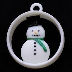 _MG_1189.JPG Télécharger fichier STL Bracelet sapin de noël avec bonhomme de neige • Modèle imprimable en 3D, pgraaff