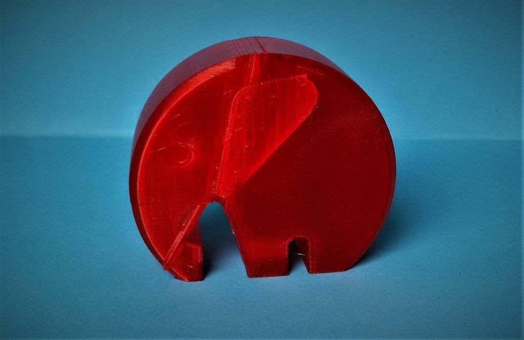 IMG_20190126_155143.jpg Télécharger fichier STL gratuit éléphant moderne danois avec oreilles et défenses • Modèle imprimable en 3D, pgraaff
