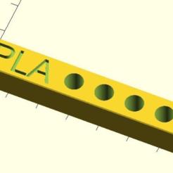 nozzle_plate_V2.PNG Télécharger fichier SCAD gratuit plaque de buse Mk8 V2 personnalisable • Plan imprimable en 3D, pgraaff