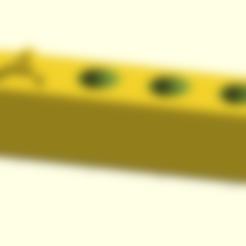 Télécharger fichier SCAD gratuit plaque de buse Mk8 personnalisable • Modèle imprimable en 3D, pgraaff
