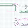 Abmessungen.PNG Télécharger fichier SCAD gratuit pince à nappe paramétrique personnalisable V3 • Plan pour impression 3D, pgraaff