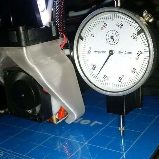 IMG_20180213_223832.jpg Download free STL file dial gauge Creality Ender 2 & CR-10_V1 • 3D print object, pgraaff