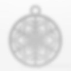 Imprimir en 3D Brazalete de árbol de Navidad con cristales de hielo, pgraaff