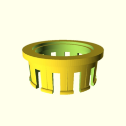 Download free STL file customizable hygrometer holder for filament spools_V3, pgraaff