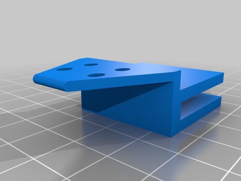 f910305af62135c11fe298bb6dc2bb48.png Télécharger fichier STL gratuit Ultimaker 2 Go, porte-câble pour lit chauffant • Modèle à imprimer en 3D, pgraaff
