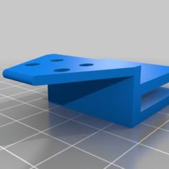 Télécharger modèle 3D gratuit Ultimaker 2 Go, porte-câble pour lit chauffant, pgraaff