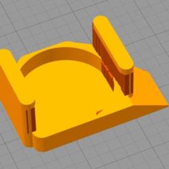 Télécharger modèle 3D gratuit Wanhao D6 gauche glissant sur la buse de remixage, pgraaff
