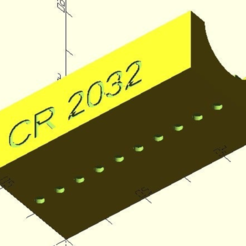 Download free STL CR2032 reservoir, pgraaff